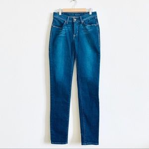 Levi's Denim Curve Jeans Dark Wash Size 25